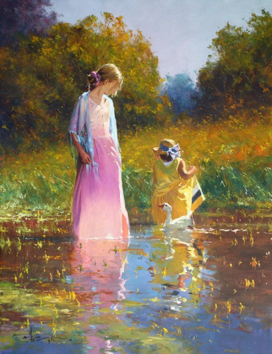 женщина и море Robert Hagan - 12