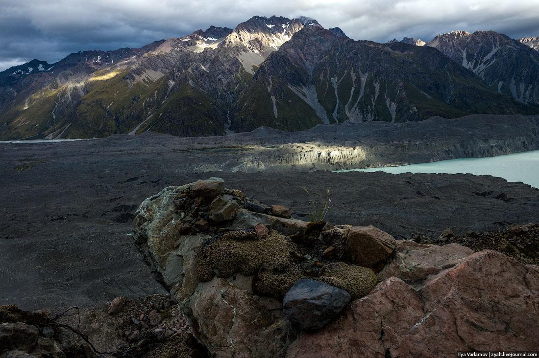 Озера Пукаки и Текапо, Новая Зеландия