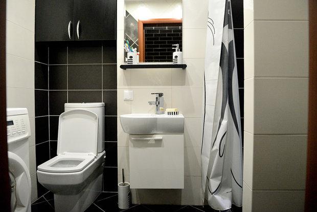 Ванная комната в двух вариантах