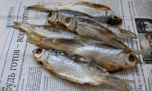 Польза и вред вяленой и сушеной рыбы