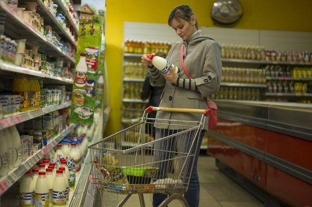В мае средний чек россиян за один визит в магазин снизился до 521 рубля