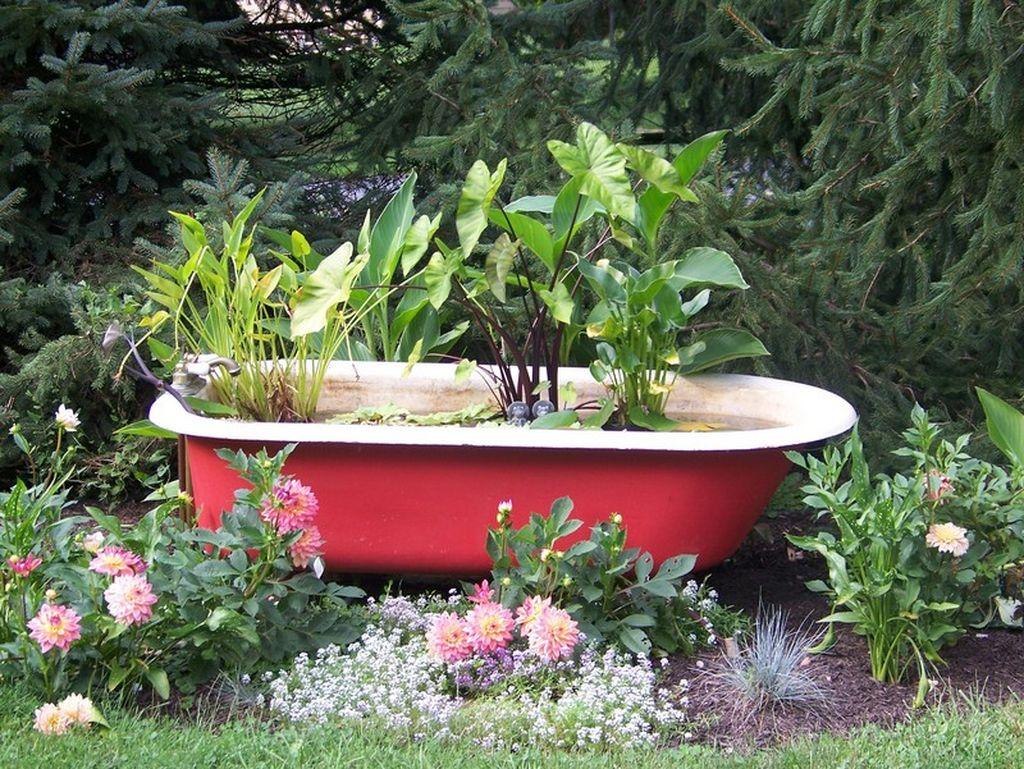 Ванну своими руками садовый