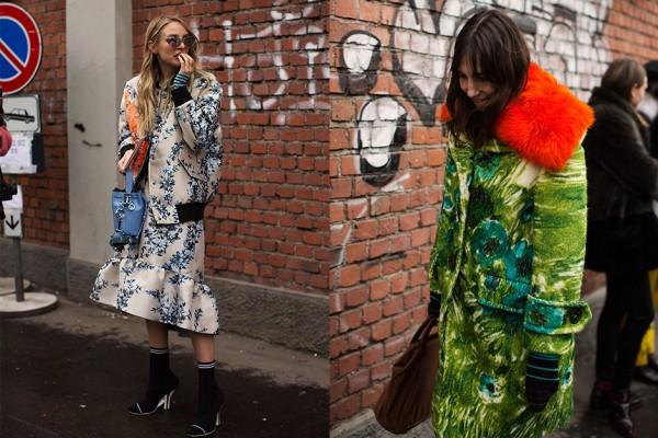 On the Street….Pattern Mixing, Milan