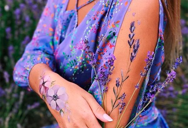 Переводные татуировки вновь вошли в моду