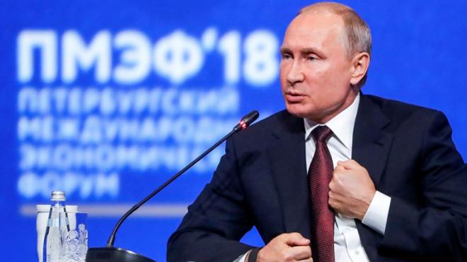 Путин ответил отрицательно на вопрос о том, российская ли ракета сбила МН17