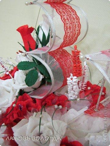 Свит-дизайн День рождения Моделирование конструирование Корабль мечты Бумага гофрированная Продукты пищевые фото 22