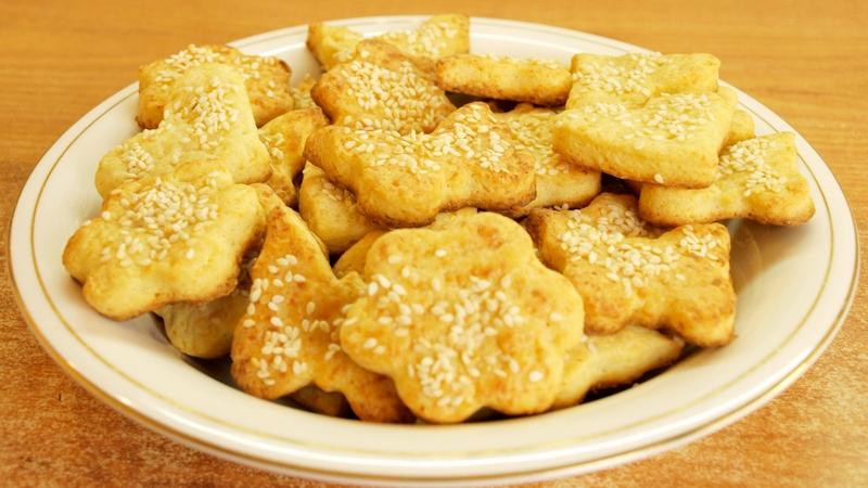 Печенье из плавленых сырков - видео рецепт