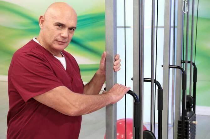 6 упражнений доктора Бубновского при гипертонии