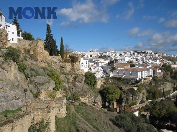 Испанский город Ронда, на высоте 1000 метров