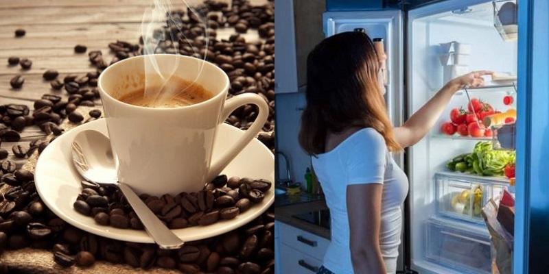 кофе в холодильнике