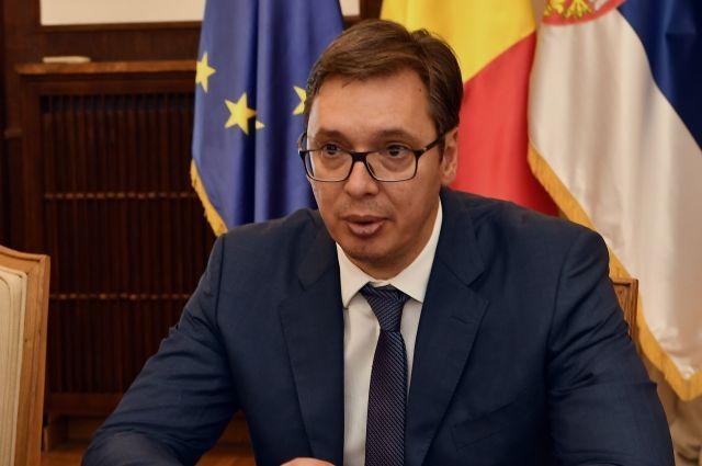 Вучич заявил, что Сербию не примут в ЕС без решения вопроса границ с Косово