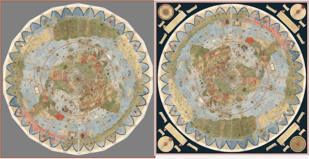 Таинственная карта мира Урбано Монте
