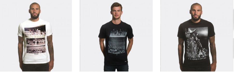 Стильные мужские футболки