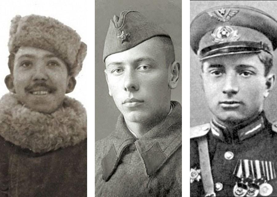 Фронтовые фото советских актёров. Никулин, Папанов, Гуляев, Трофимов, Гайдай