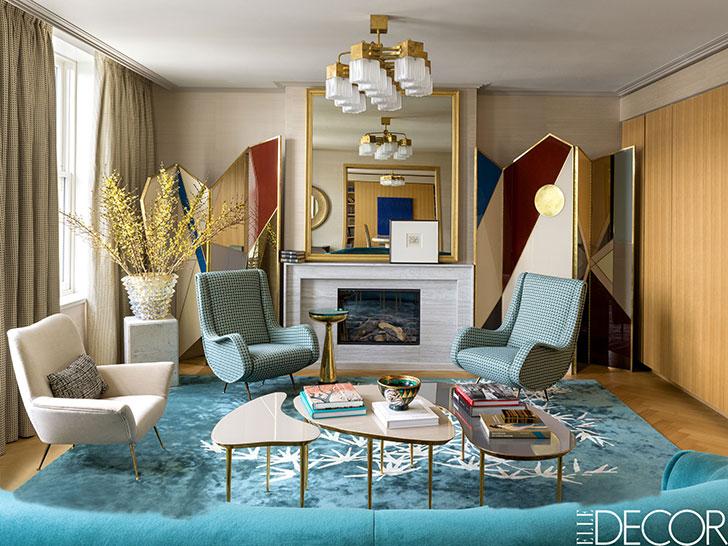Эклектичный интерьер квартиры в Лондоне от дизайнера Ираклия Зарии