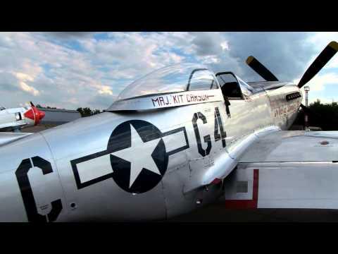 Retro airplane.