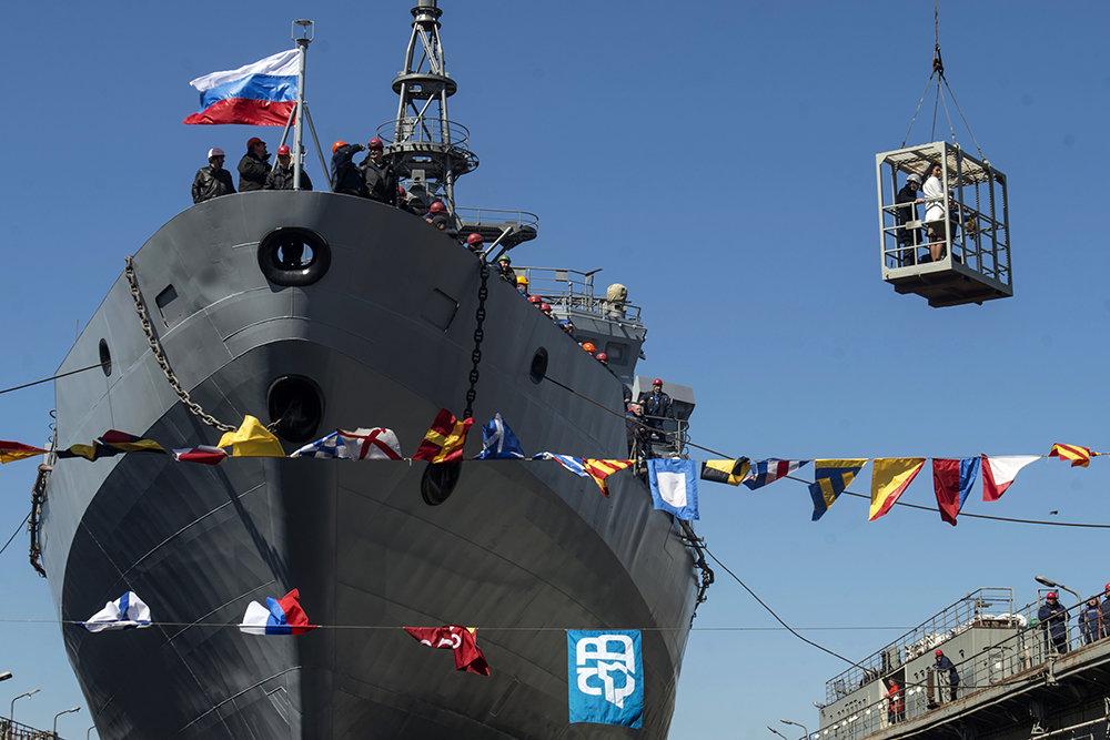 """Новый корабль-разведчик """"Ива…"""