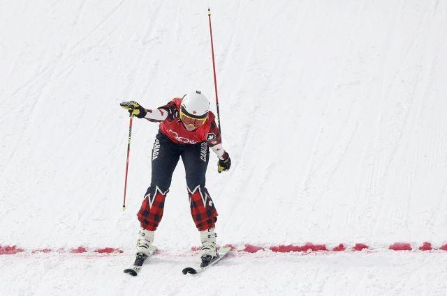 Канадка Келси Серва выиграла золото Пхенчхана в ски-кроссе