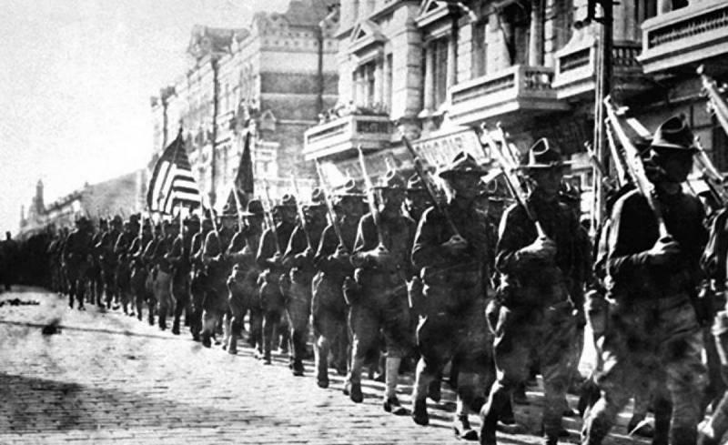Зачем американцы вторглись в Россию 100 лет назад?
