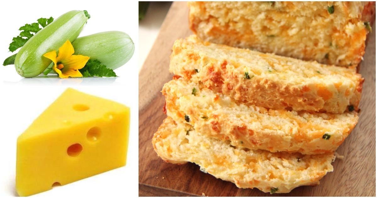 Сырный хлеб с кабачком — аппетитная альтернатива привычной выпечке