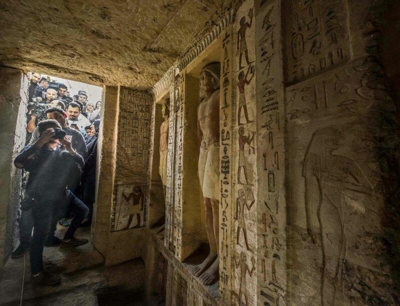 В Египте обнаружили нетронут…