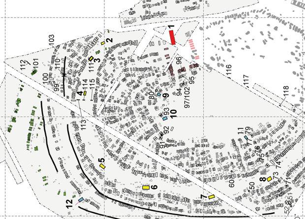 Мега-структуры трипольцев оказались общественными зданиями