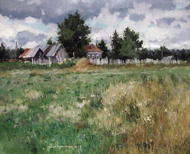 Традиционная русская живопись Алексея Савченко