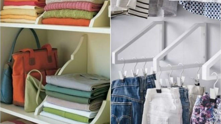 9 способов складывать одежду…