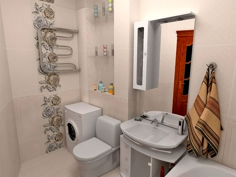 Ванная комната совмещенная фото