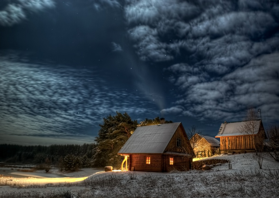Атмосферные фотографии самого волшебного времени года зима, погода, фото