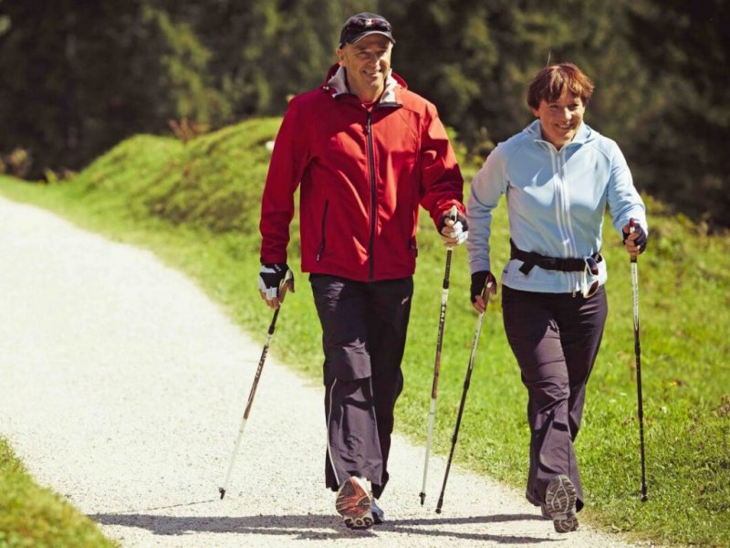 Исследование: ходьба - естественный метод против гипертонии