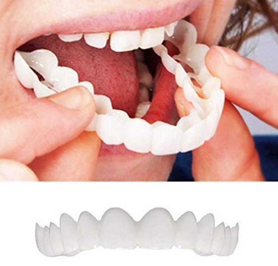 Купи накладные зубы, говорили они, будет голливудская улыбка
