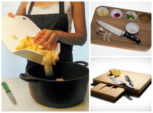 Оригинальные гаджеты - разделочные доски для кухни