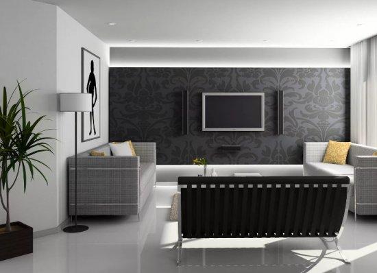 Черная мебель: использование в интерьере