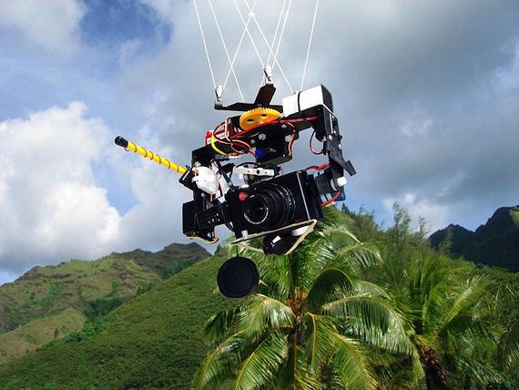KAP: фотосъемка с воздушного змея