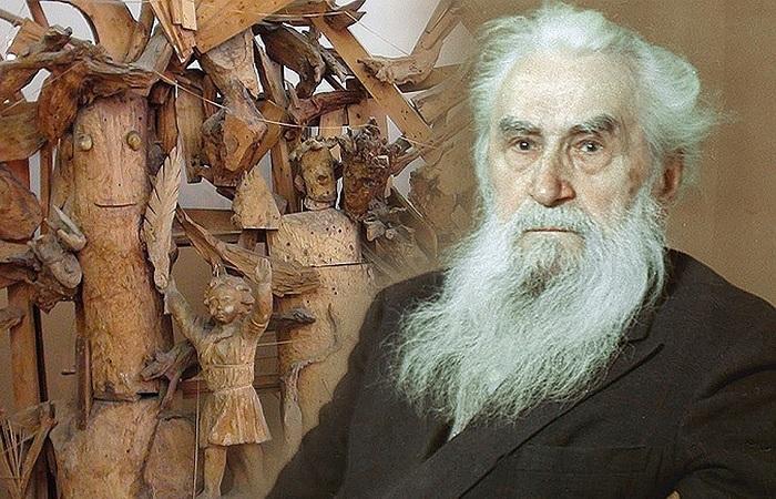 Бюст Сергея Коненкова.