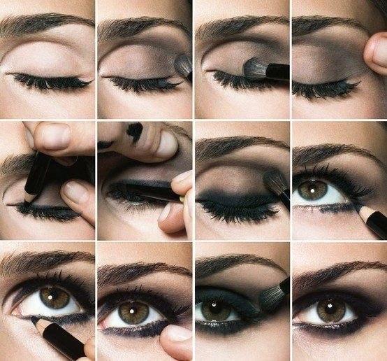 Как правильно наносить макияж для глаз пошагово