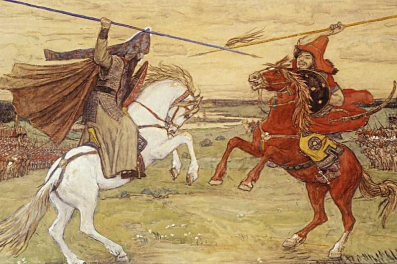 Почему Пересвет победил Челубея