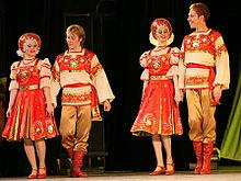 Танцы народов мира. Россия
