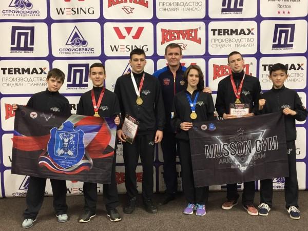 13 юных спортсменов Севастоп…