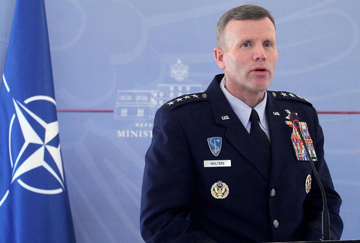 Тод Уолтерс, главнокомандующий объединенными силами НАТО в Европе, генерал ВВС США. Источник изображения: https://vk.com/denis_siniy