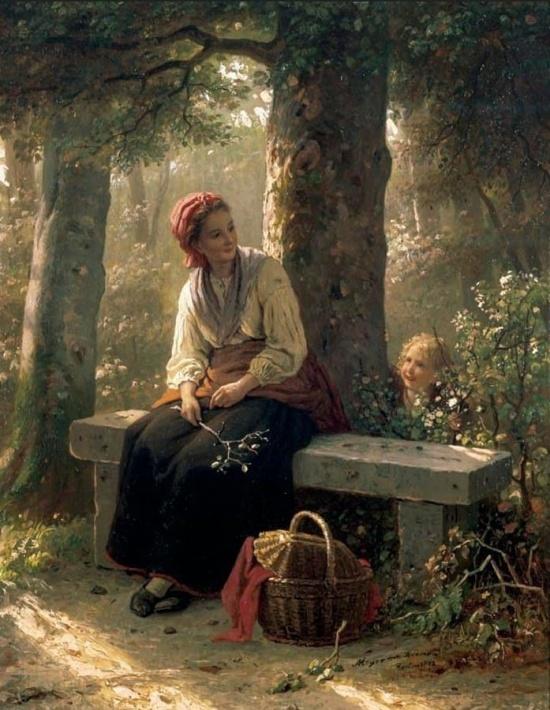 художник Иоганн Георг Майер фон Бремен (Johann Georg Meyer von Bremen) картины – 16
