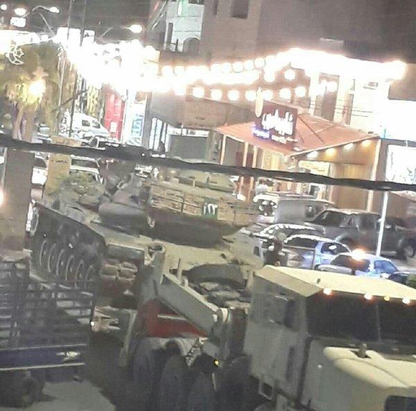 Иорданские военные уже стягивают бронетехнику к сирийской границе