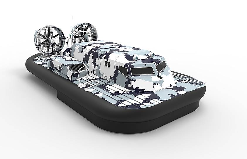 """Для ВМФ России заказаны два катера на воздушной подушке типа """"Манул"""" проекта 23321"""