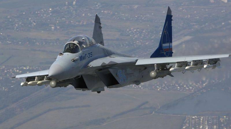 """Корпорация """"МИГ"""" готова приступить к выполнению заказа Минобороны на МиГ-35"""