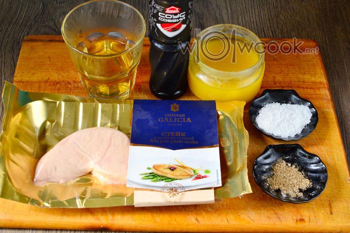 Ингредиенты дл приготовления фуа-гра