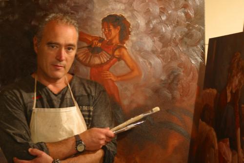 Mark Spain - художник , посвятивший себя прекрасным девушкам