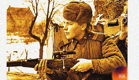 Как можно было легко обнаружить снайпера в плену во время войны?
