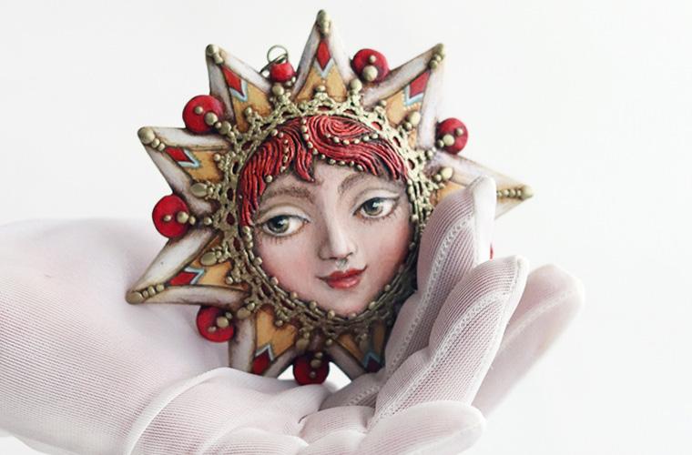Лица и маски: как создаются коллекционные авторские украшения ручной работы