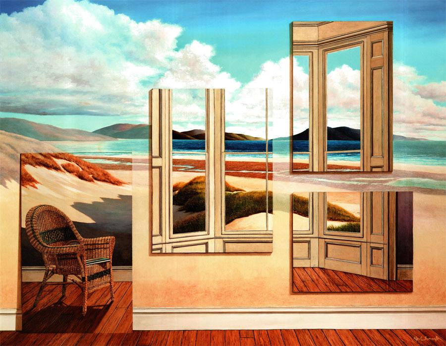 The Bay Window (51cm x 68cm)